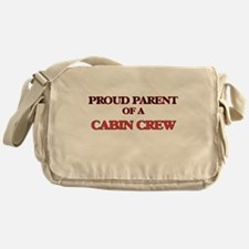 Proud Parent of a Cabin Crew Messenger Bag