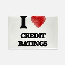 I love Credit Ratings Magnets