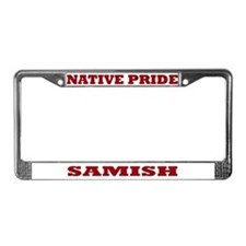Native Pride Samish License Plate Frame