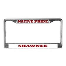 Native Pride Shawnee License Plate Frame