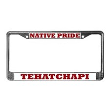 Native Pride Tehatchapi License Plate Frame
