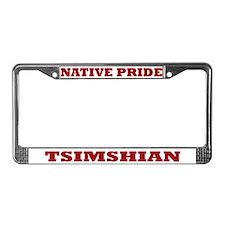 Native Pride Tsimshian License Plate Frame