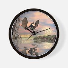 Amazing dragon Wall Clock