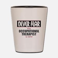 Occupational Therapist Shot Glass