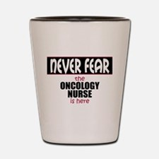 Oncology Nurse Shot Glass