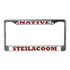 Steilacoom Native License Plate Frame