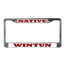 Wintun Native License Plate Frame