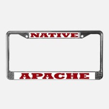 Apache Native License Plate Frame