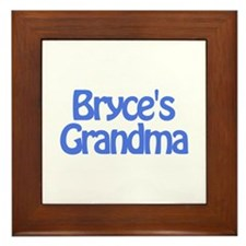 Bryce's Grandma Framed Tile