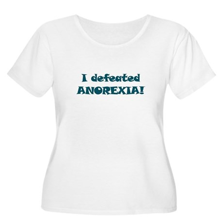 Defeated Anorexia - Women's Plus Size Scoop Neck