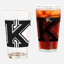 Unique Letterman Drinking Glass