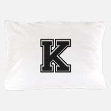 Letter K Pillow Case