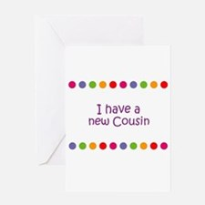 Cute From cousin Greeting Card
