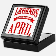 Cute April Keepsake Box