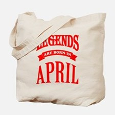 Cute April Tote Bag