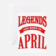 Cool Legends Greeting Card
