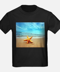 Starfish On The Beach T-Shirt