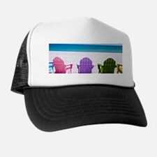 Lounge Chairs On Beach Hat