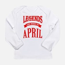 Legends Are Born In April Long Sleeve T-Shirt