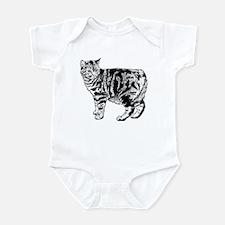 Manx Cat Infant Bodysuit