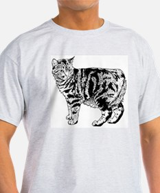 Manx Cat T-Shirt