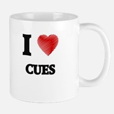 I love Cues Mugs