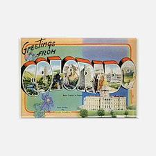 Colorado Postcard Rectangle Magnet