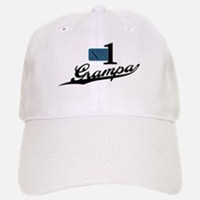 Number One Grampa Baseball Baseball Cap
