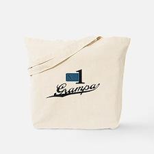 Number One Grampa Tote Bag