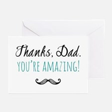 Father's Day Thanks Dad, You're Amazing Greeting C