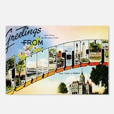 Connecticut Postcards (Package of 8)