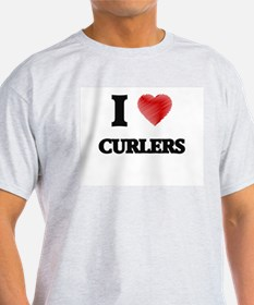 I love Curlers T-Shirt
