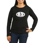 Kokopelli Women's Long Sleeve Dark T-Shirt