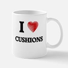 I love Cushions Mugs