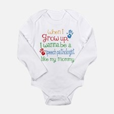 Speech Pathologist Lik Long Sleeve Infant Bodysuit