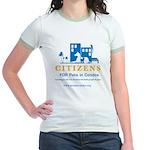 Pets in Condos Jr. Ringer T-Shirt