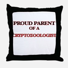 Proud Parent of a Cryptozoologist Throw Pillow