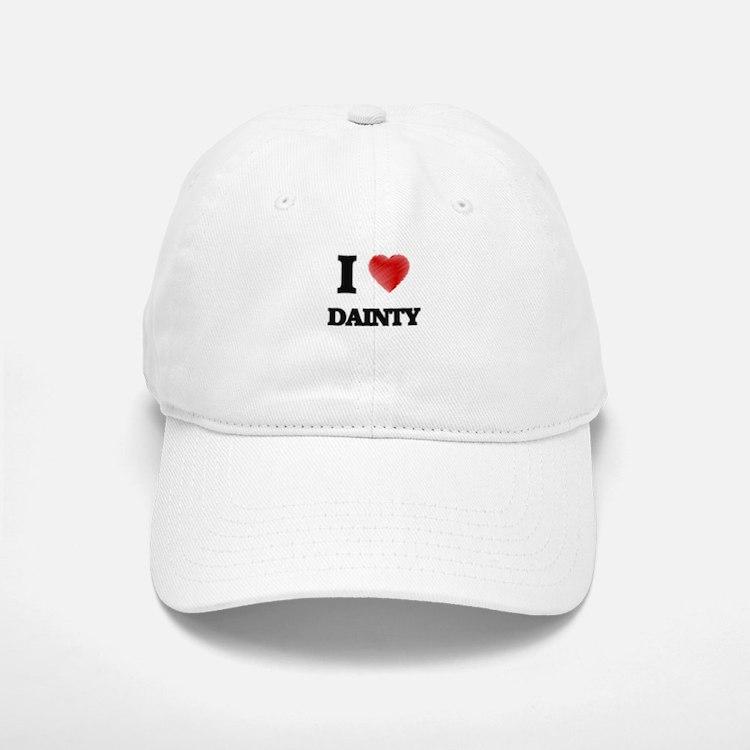 I love Dainty Baseball Baseball Cap