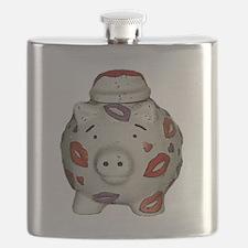 Cute Piggy bank Flask