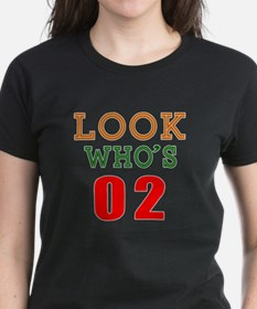 Look Who's 02 Birthday Tee