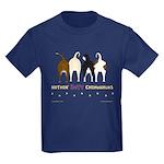 Nothin' Butt Chihuahuas Kids Dark T-Shirt