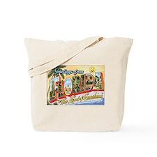 Florida Postcard Tote Bag