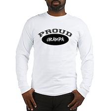 Proud Grampa (black) Long Sleeve T-Shirt