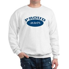 Proud Grampa (blue) Sweatshirt