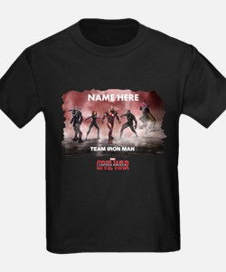Team Iron Man Group Personalized T