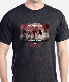 Team Iron Man Group Personalized T-Shirt