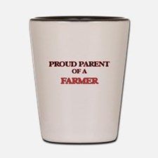 Proud Parent of a Farmer Shot Glass