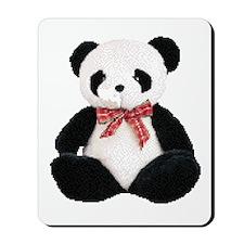 Cute Stuffed Panda Mousepad