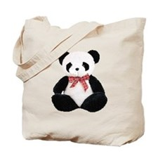 Cute Stuffed Panda Tote Bag