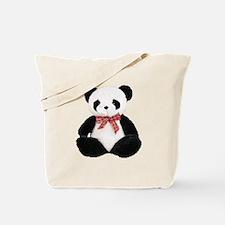Cute Stuffed Panda Tote Bag